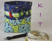 Little Thread Catcher Complete Kit - Pattern, Fabric, and Interfacing - FabricFascination