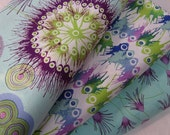 Cotton Fabric Bundle  from the Cosmos Line by Dan Bennett for Free Spirit   - Total 1 YD - FabricFascination