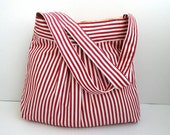 Shoulder Bag-Pleated-Double Straps - marbled