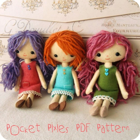 Pocket Pixie Pattern