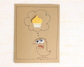 Funny Birthday Card - Unisex Birthday Card - Silly Birthday Card - Kids Birthday Card - Monster Birthday Card - kraze4paper