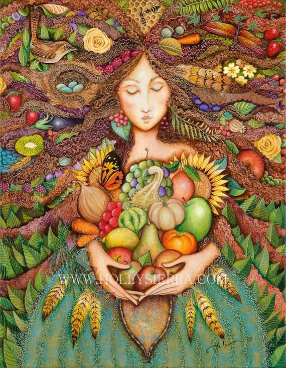 The Harvest Goddess - Mistress Of Mabon