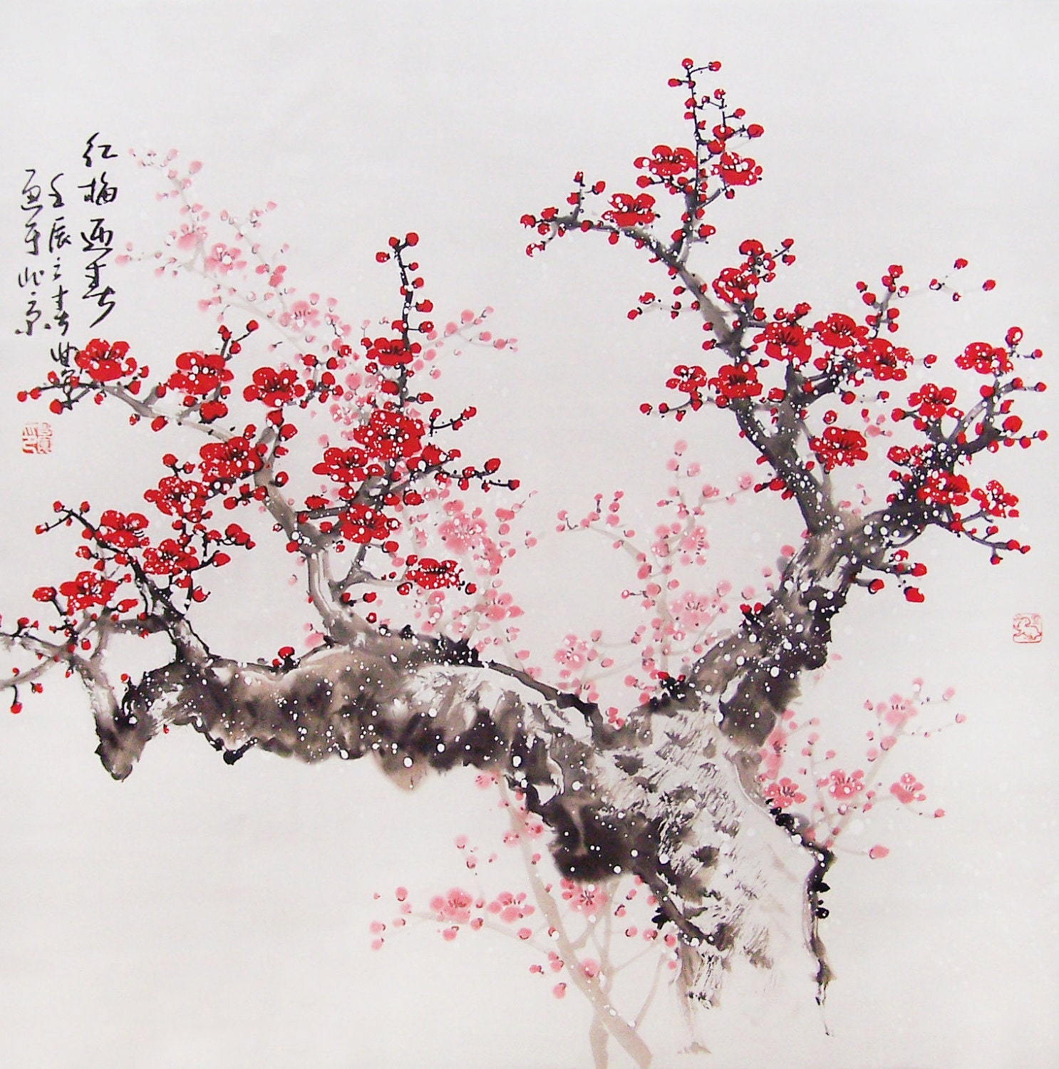 Blossom Tree Drawing: Cherry Blossom Drawing
