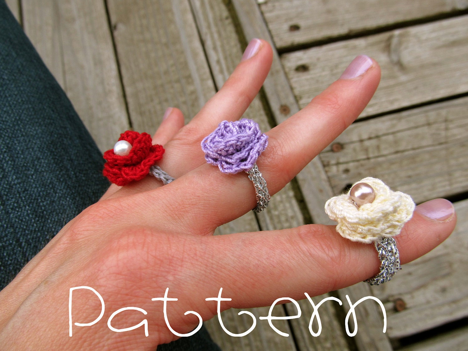 Crocheting Rings : Crochet Ring Pattern
