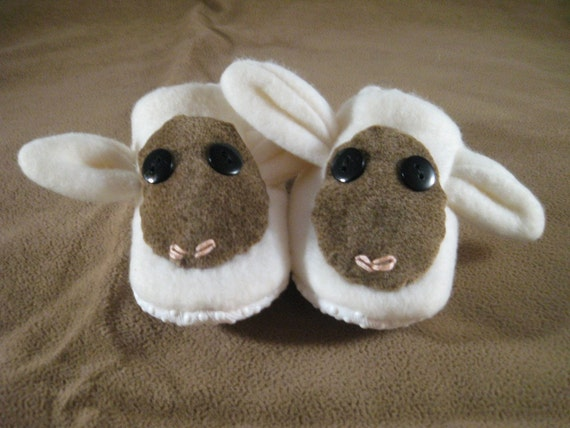 little lamb booties