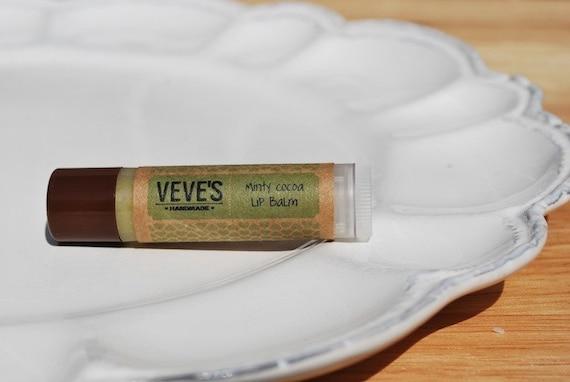 Minty Cocoa Lip Balm by Veve's Handmade