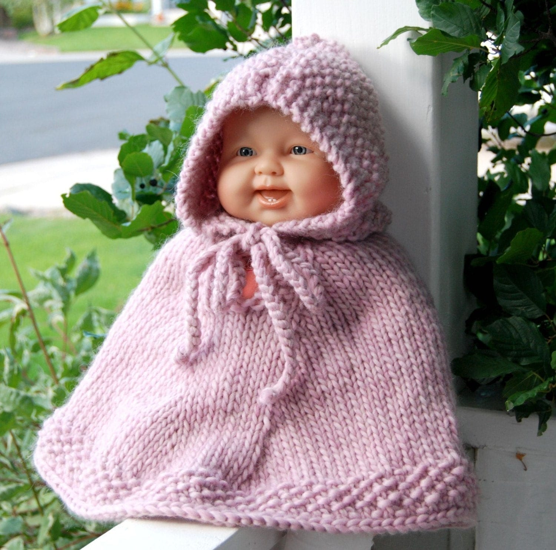 Como Hacer Ponchos a Crochet Para Bebes