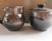 Sugar and Creamer Set - NewProspectPottery