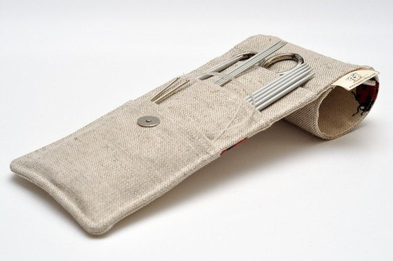 """MINI корпуса иглы.  размер: 4 """"х 9,2"""".  Иглы, Вязание крючком и крючки Case."""