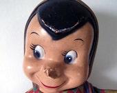 Adorable Vintage Stuffed Elf Doll