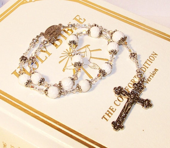 SPECIAL PRICE - Holy Spirit / First Holy Communion Decima Rosary