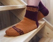 SALE 20 % Orange virus Men's socks EUR 43-44, US 10 / 10,5 / 11 - RGideas