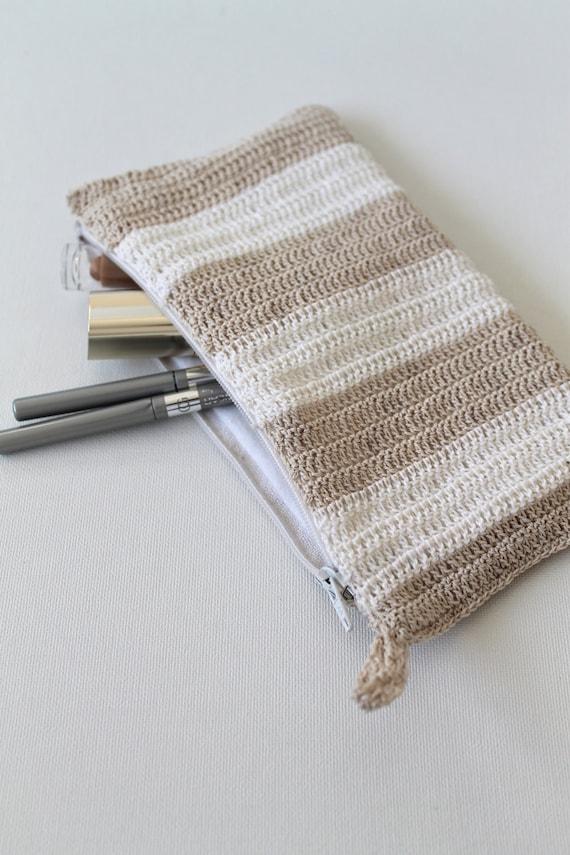 Дело вязания Карандаш ручной нейтральные полосы хлопка