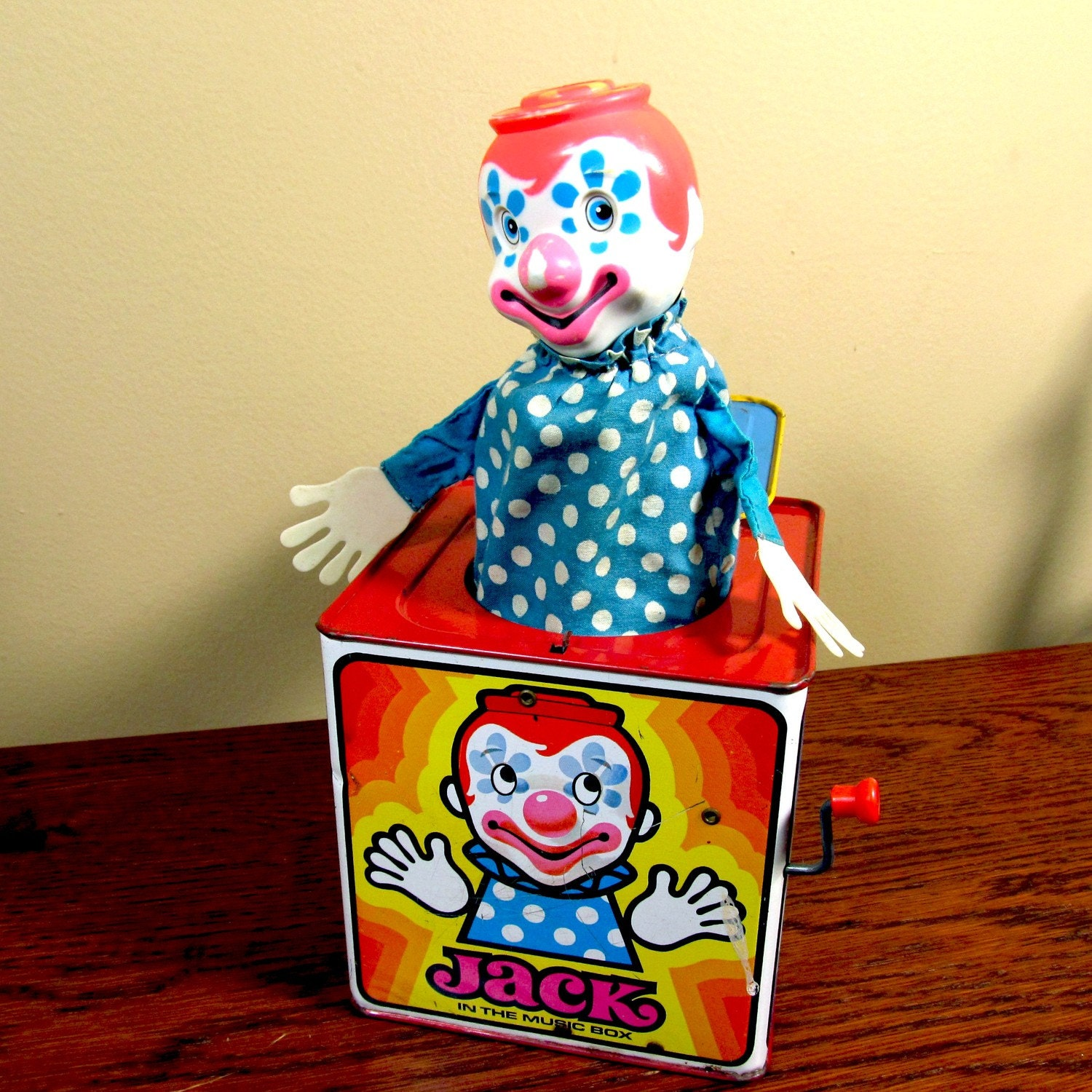 Halloween Jack In The Box Prop.Pneumatic Jack In The Box Halloween Prop Automated Clown Circus