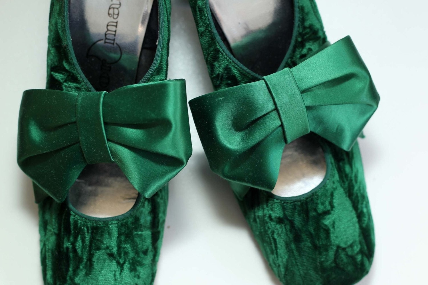 Emerald Green Shoes