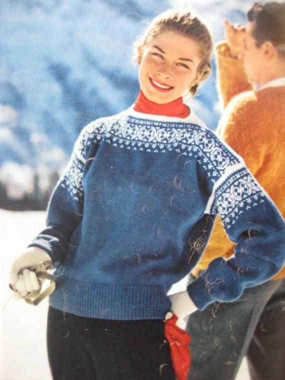 Vintage sweater patterns - TheFind