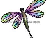 Dragonfly Lilibeth Print - GraciousGracies