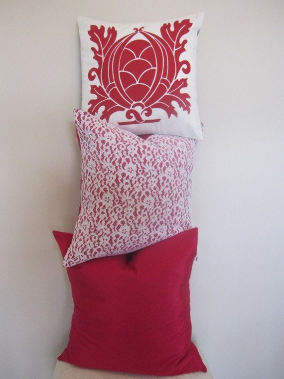 SALEPillow Decorative Throw Pillow Cover by CottageHomeCouture