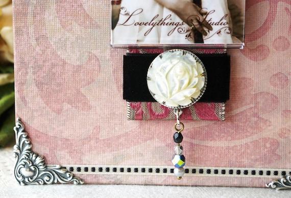 Декоративная рамка для фотографий, весна цвет, стиль весна, прекрасная, женственная, розовый дамасской ж / перламутр