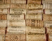 Corks Fine art photography 8x10 IN STOCK wine collection kitchen home decor - SCPerkinsPhotography