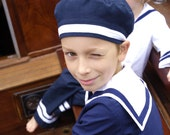 CAP AHOI, Sailor Cap in Various Colours, Onesize - berlinerkindermoden