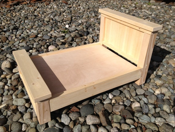 DIY Unfinished Farmhouse Doll Bed or Photography Prop