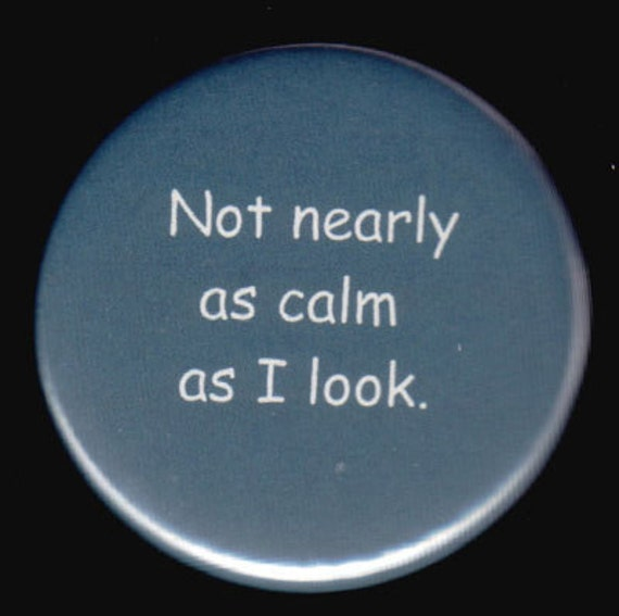 Stressed Out Button