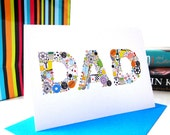 dads things fathers day card - mrsLcards