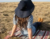 Wide Brimmed Sun Hat, Floppy Hat