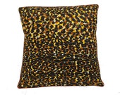 African Wax Print Pillow Cover (Rafiki Natural)