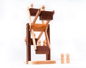 Natural Wooden Toy Ferris Wheel-childrens wooden toy