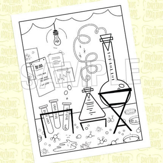 coloring pages science coloring page lavocolorhd