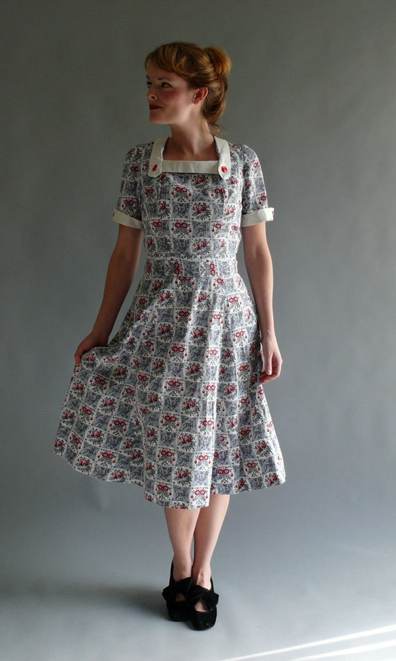 Dress ideas on pinterest 1940s dresses 1950s christmas and vintage
