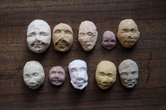 10 Sprouting Seed Faces