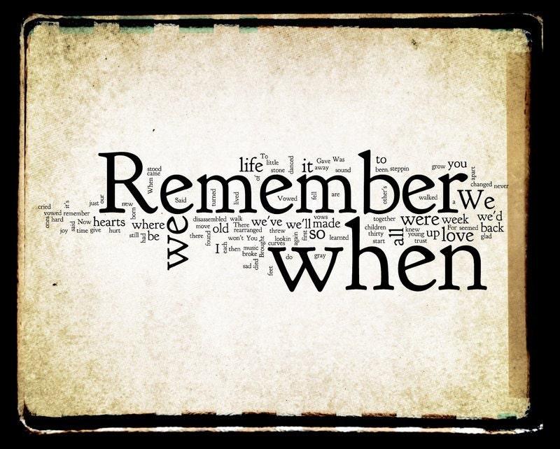 Remember When Lyrics - Alan Jackson | Country Music