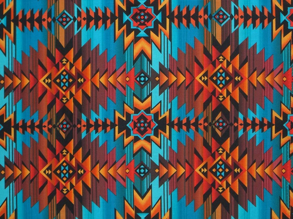Aztec Pattern Aztec Print Pinterest Aztec Rust And