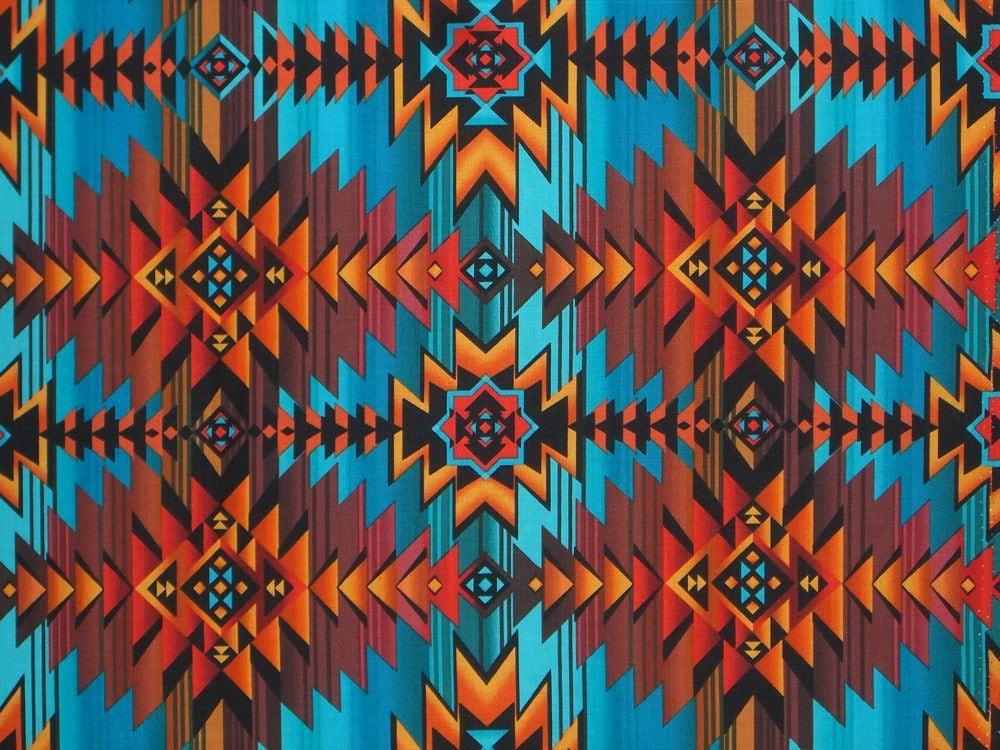 Aztec Pattern Aztec Print Pinterest Aztec Rust And