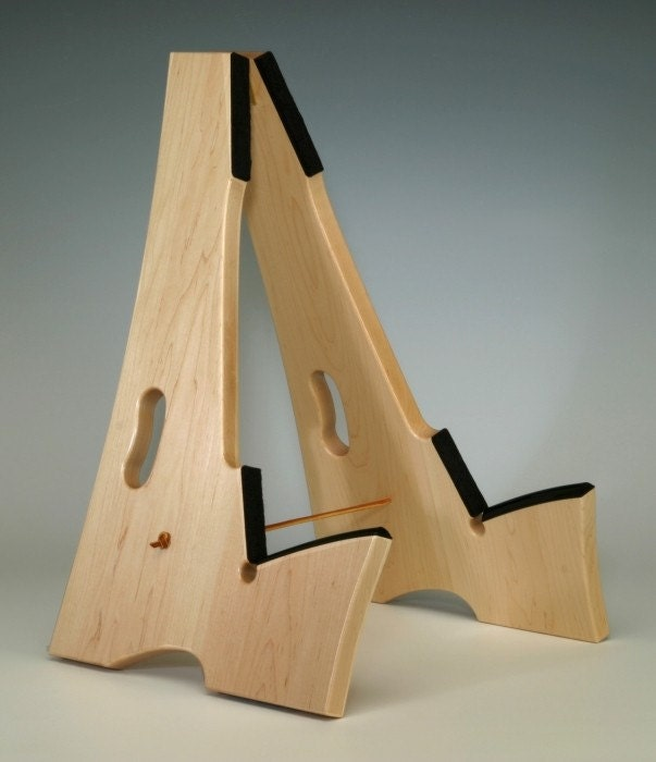 wood project ideas woodworking plans guitar stand. Black Bedroom Furniture Sets. Home Design Ideas