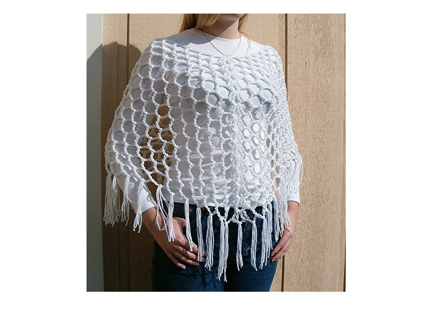 EASY CROCHET PONCHO PATTERNS - FREE PATTERNS