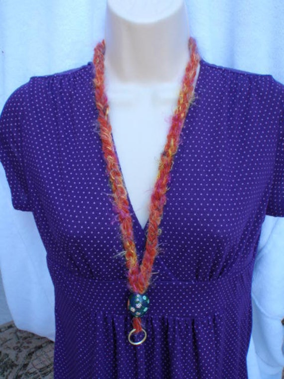 Crochet Lanyard