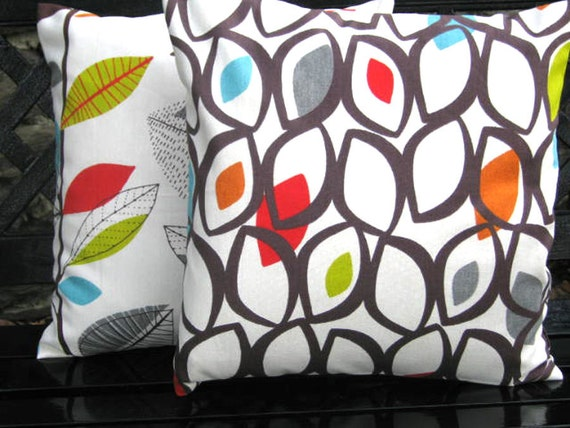 "RETRO 16"" cushion/pillow cover, pillow sham ,pillow slip in a modern,contemporary  designer fabric"