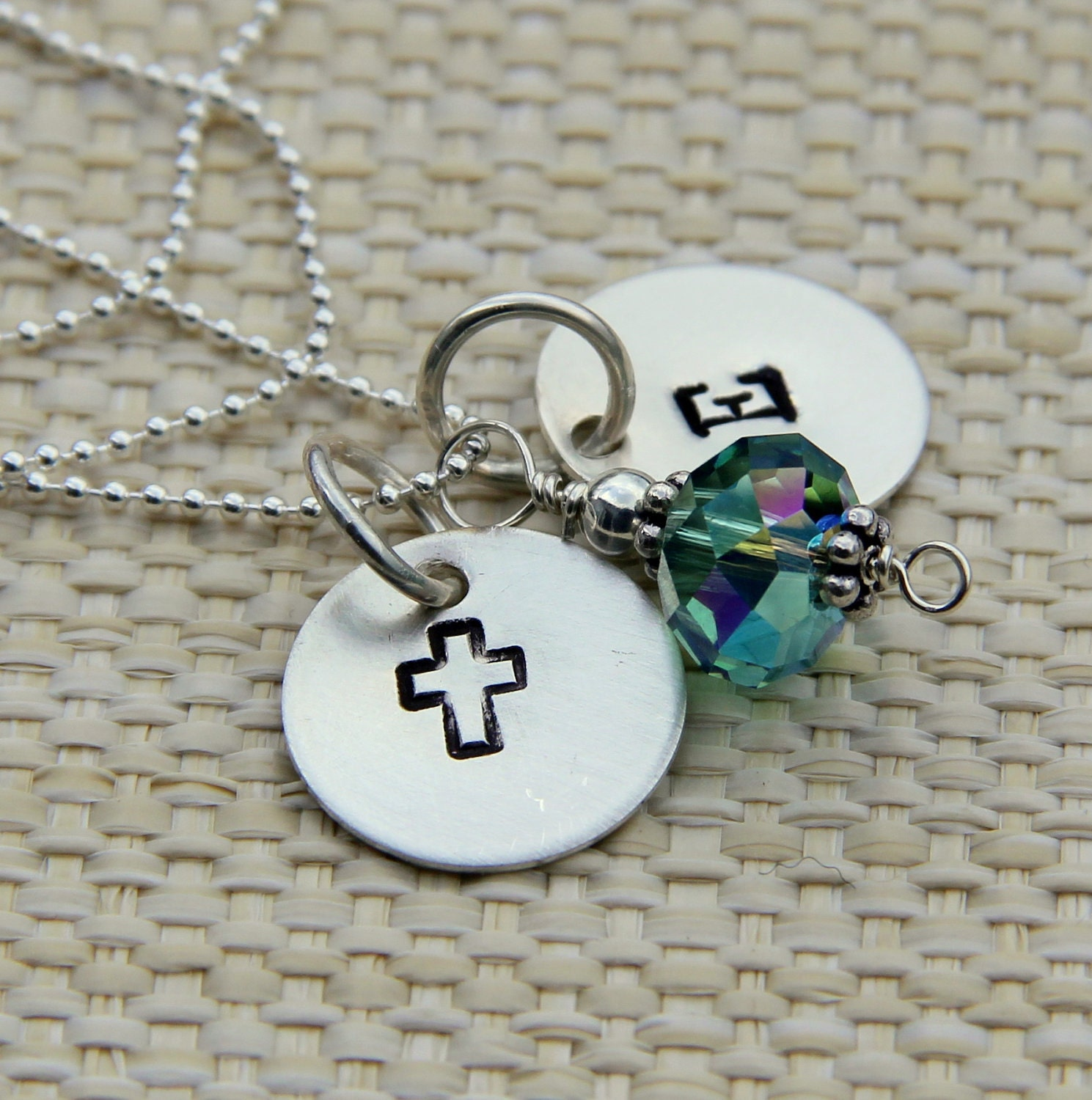 Confirmation Necklace Girls Teenagers, Easter Gift Young Adult, Cross, ...