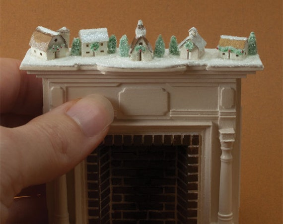 Half Scale Miniature Glitter House Village Kit