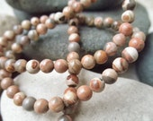 Safari Jasper - Full Strand - 4mm - SleepyDogBeads