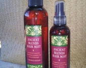 Ancient Blends Re-hydrating Moisture Hair Oil Mist... LARGE 8ozs