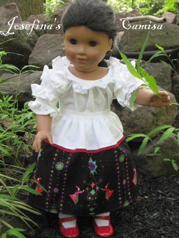 Josefina's Camisa Outfit-fits 18 Inch American Girl Doll