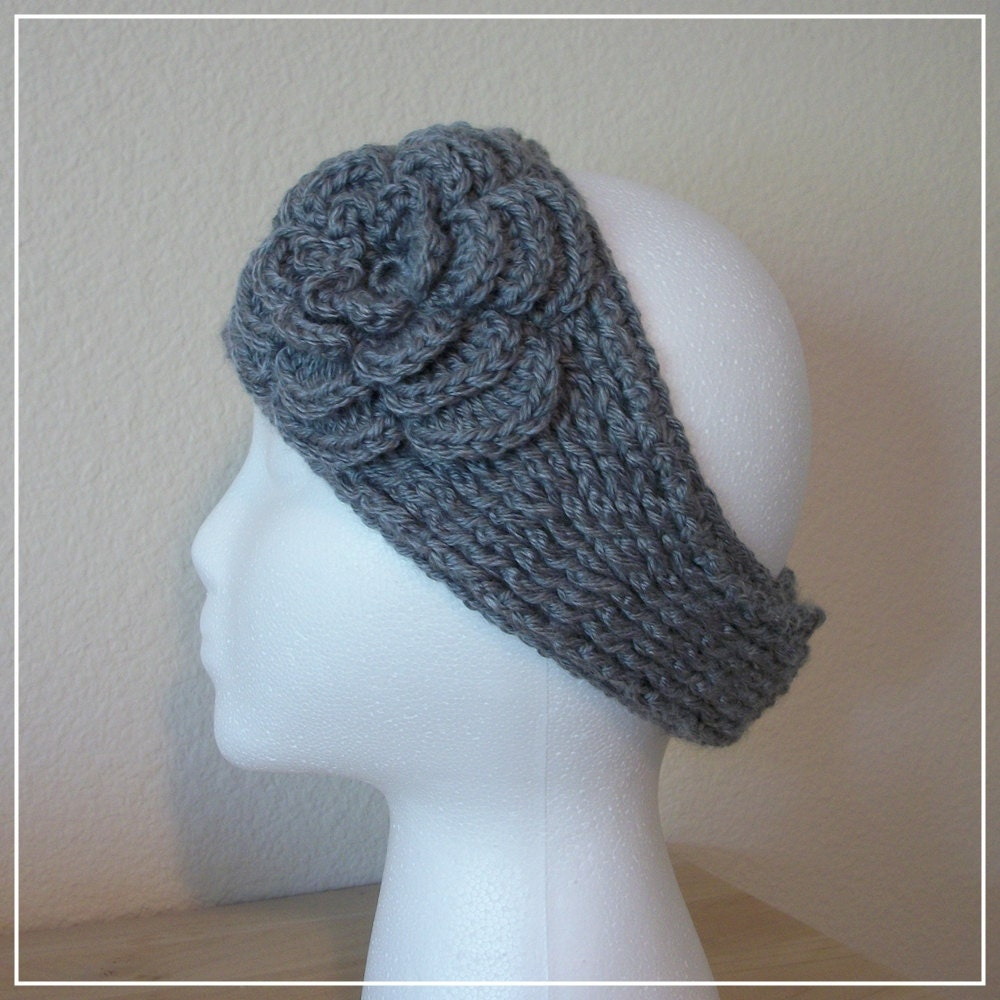 Knitted Ear Warmer Pattern : Knit Ear Warmer Pattern Patterns Gallery