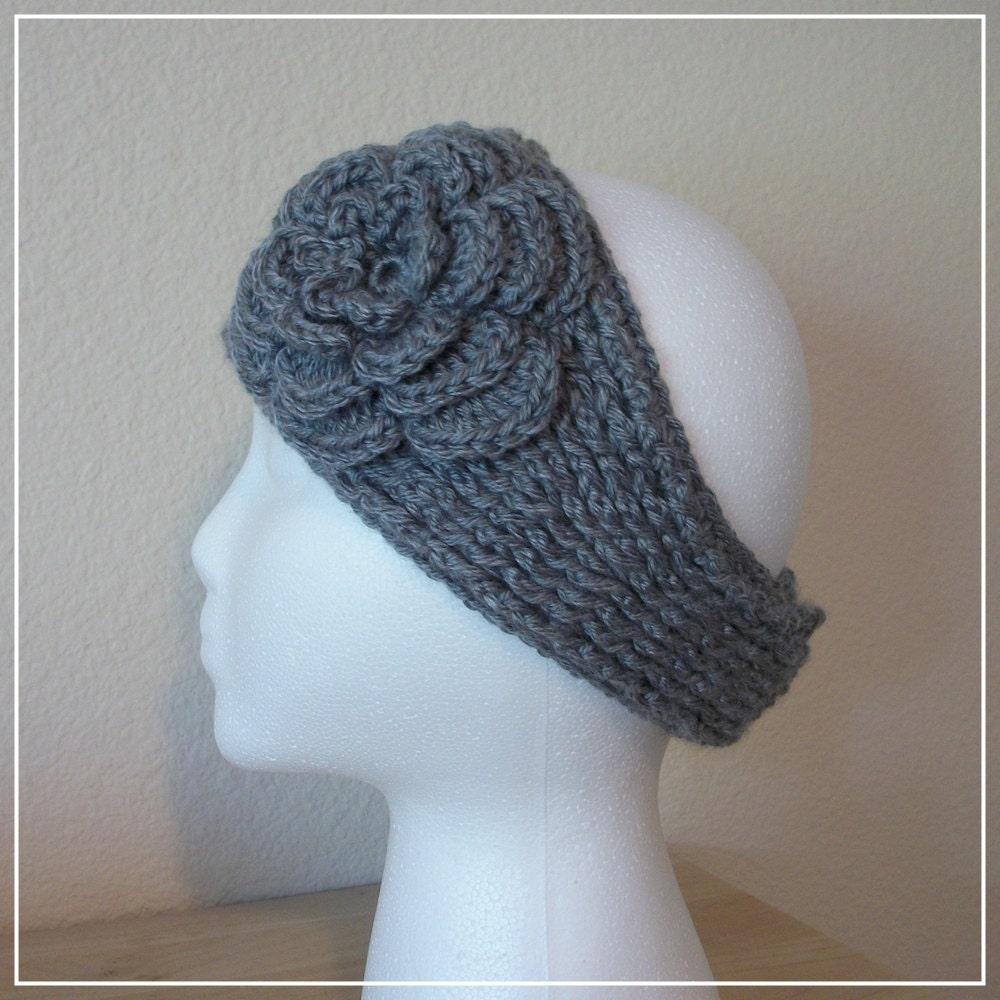 Knit Ear Warmer Pattern | Patterns Gallery