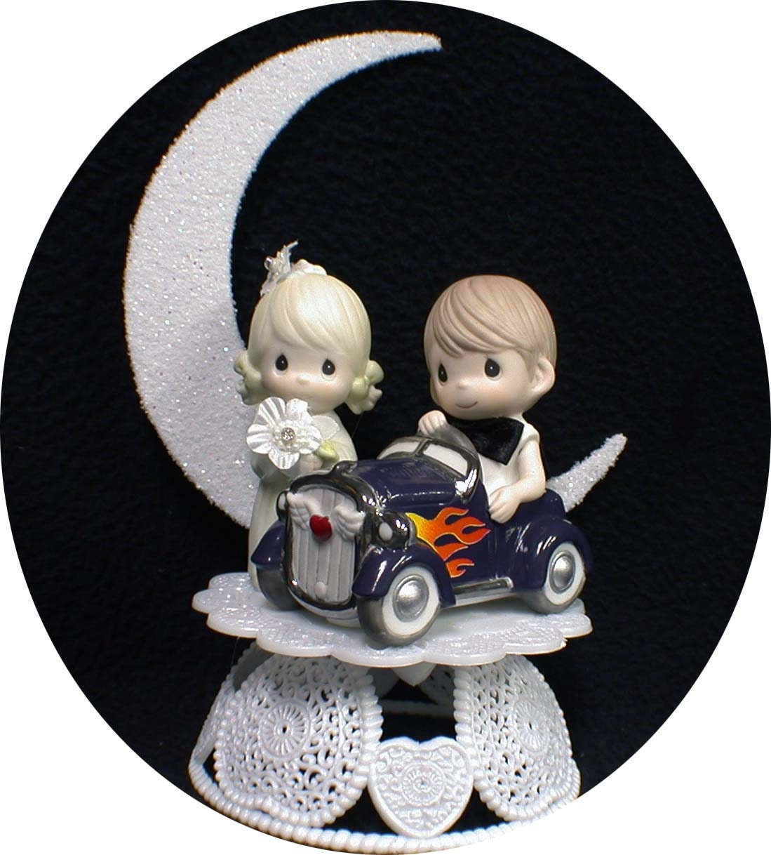 wedding cake toppers: Car Wedding Cake Toppers