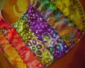 Quilted Tie Dye Cloth Baby Bib